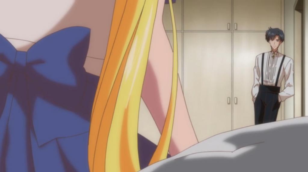 Mamoru is... Tuxedo Mask?!