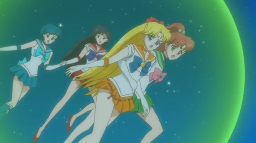 Yay! We saved the Princess! Oh.. oops sorry Sailor Moon!