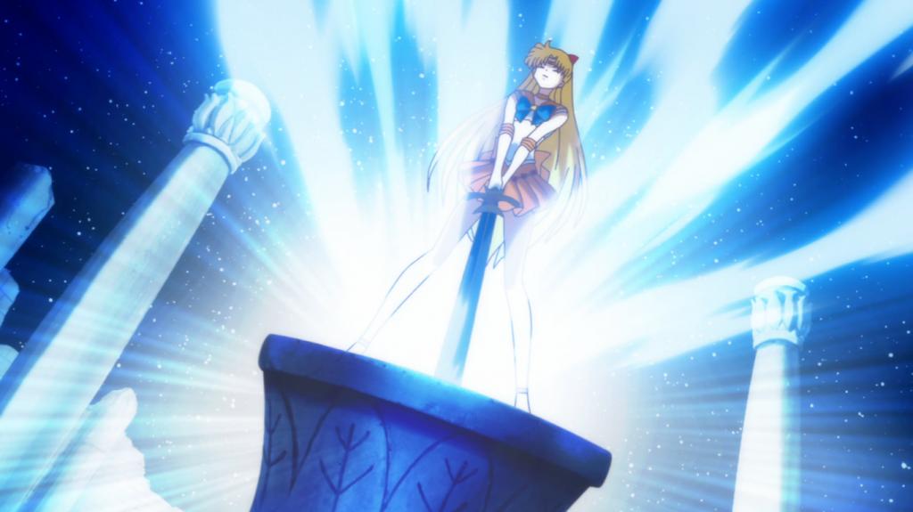 Sailor Venus heir to the throne?!